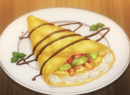 Crunchyroll #62: Mixed Fruit Crepes