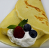 """Crunchyroll #97: Double Berry Crepe from """"Comic Girls"""""""