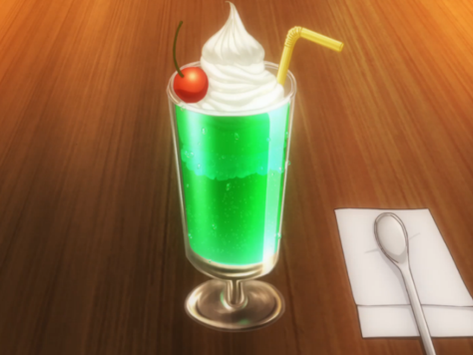 """Crunchyroll #59: Melon Soda Float from """"Restaurant to Another World"""""""
