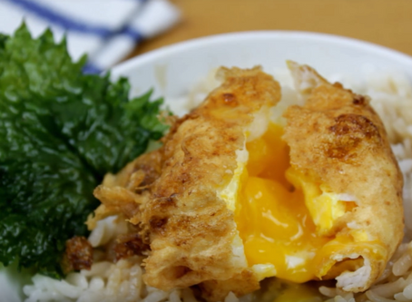 "Crunchyroll #86: Tempura Egg Don from ""Food Wars"""