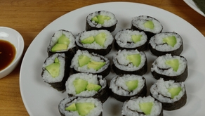 Cucumber Rolls from Sarazanmai