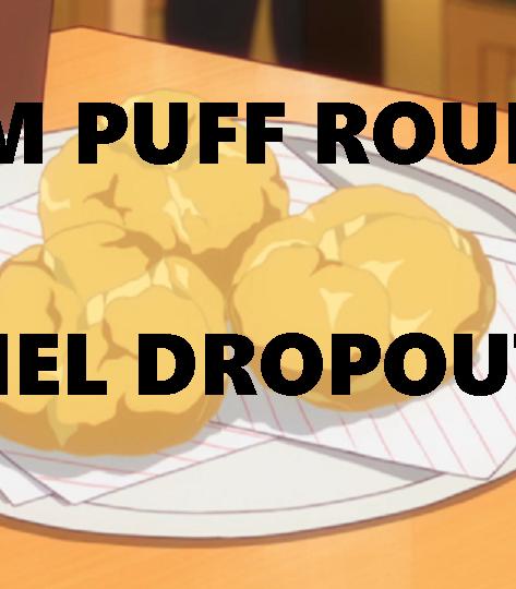 "Crunchyroll #35: Cream Puff Roulette from ""Gabriel DropOut"""