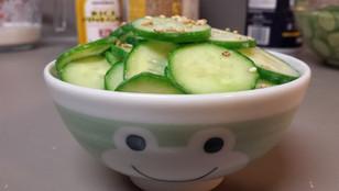 Cucumber Miso Don from Barakamon