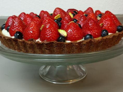 Pistachio Fruit Tart from Antique Bakery