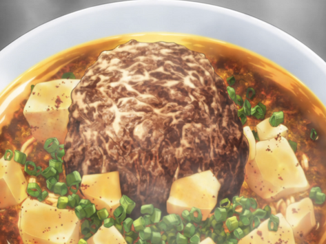 Crunchyroll #68: Time Fuse Mapo Curry Noodles from Food Wars!