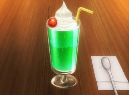 "Crunchyroll #59: Melon Soda Float from ""Restaurant to Another World"""