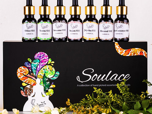 Soulace - Set of 6 Carrier Oils