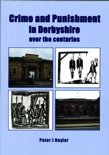 Crime & Punishment in Derbyshire