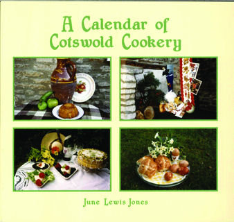 Calendar of Cotswold Cookery