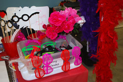 A sample of Valentine's Day props