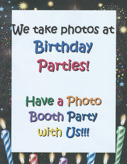 Have a Birthday Party with Us!
