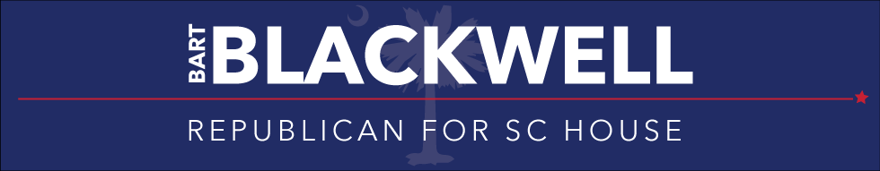 Bart Blackwell Republican for South Carolina House