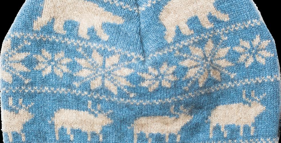 B401 – Single layer beanie (blue)