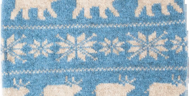 N401 – Neck gaiter (blue)
