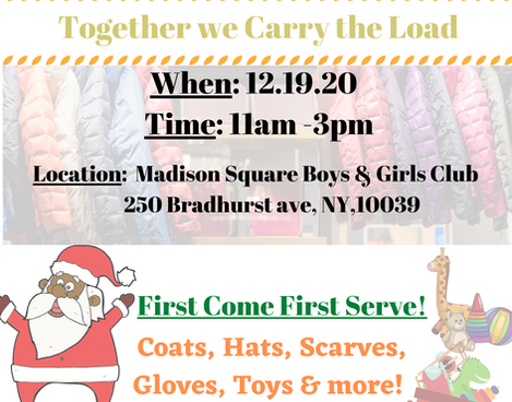 Holiday Coat/Toy Drive