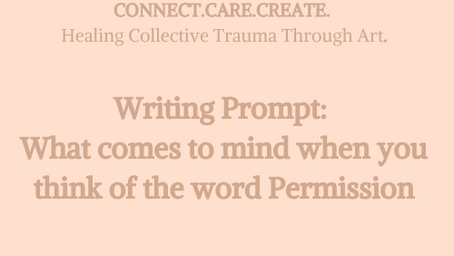CONNECT.CARE.CREATE: HEALING COLLECTIVE TRAUMA THROUGH ART.