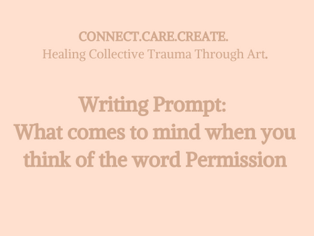 CONNECT.CARE.CREATE: HEALING COLLECTIVE TRAUMA THROUGH ART.
