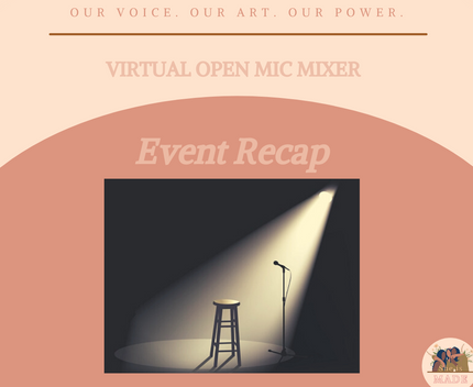 ICYMI: Our Refusing to Be Silenced Open Mic Mixer 3.31.21