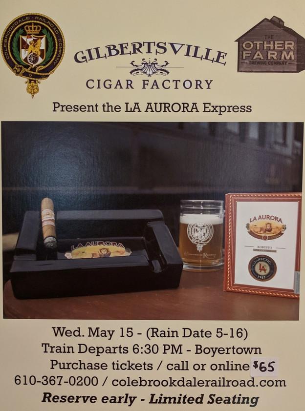 La Aurora Express Cigar Train