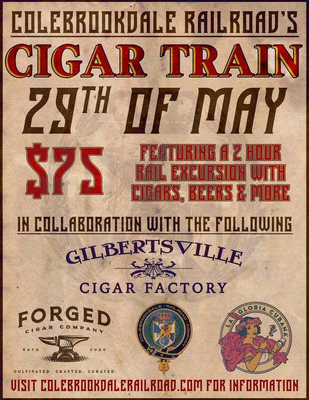 Cigar Train is back!!!