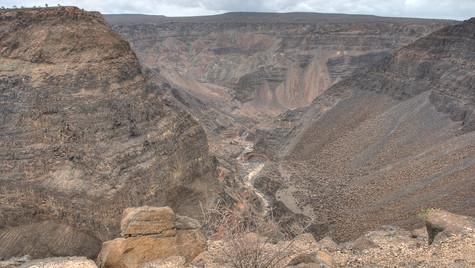 Canyon de Dymbia