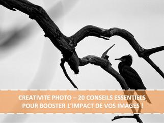 CREATIVITE PHOTO – 20 CONSEILS ESSENTIELS POUR BOOSTER L'IMPACT DE VOS IMAGES !