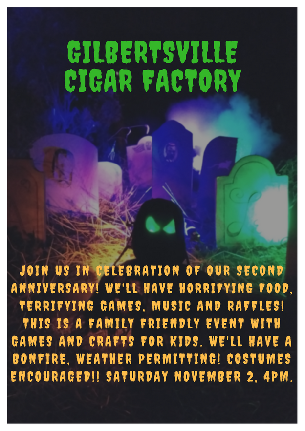 Our 2nd Anniversary Halloween Party
