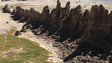 Muraille de roches
