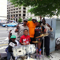 Spread Love Band in DC