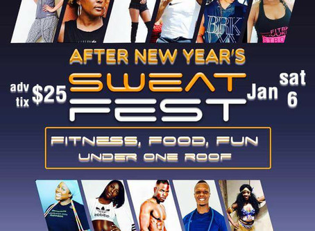 After New Years Sweat Fest (Come Jump Rope With Me)