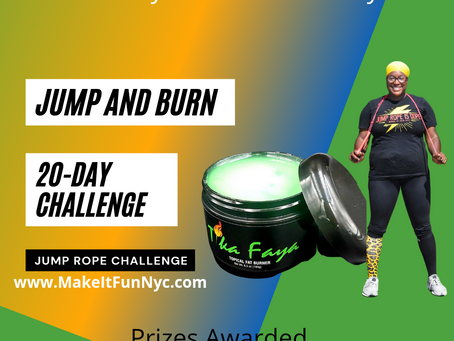 Are you ready to join a 20 day jump rope challenge?