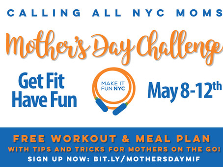 Join Our Mother's Day Challenge 💪