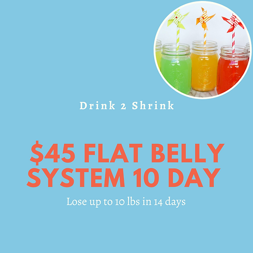 14-Day Flat Belly System