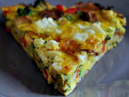 Free up your time with the Egg Frittata!