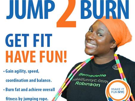 Jump 2 Burn Jump Rope Class