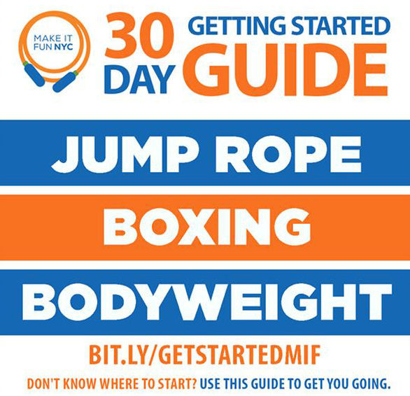 30-Day Getting Started with Jump Rope Guide