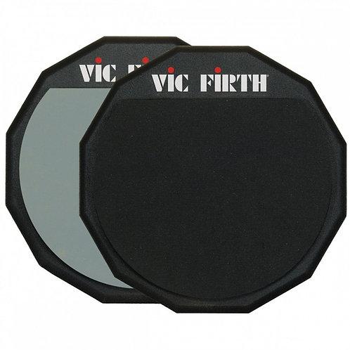 """PAD DE PRÁCTICA DOBLE VIC FIRTH 12"""" (Pad12d)"""