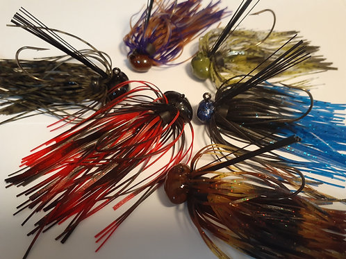 1/2 oz Leadfree Football Jigs