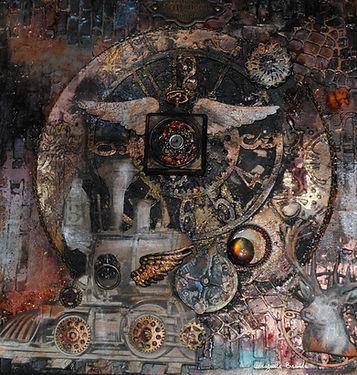 Art du collage le temps des machines 2 (