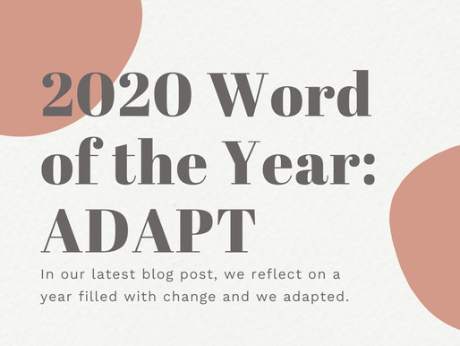 2020 Word of the Year: Adapt