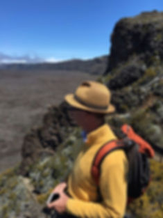 Excursion au Piton de La Fournaise