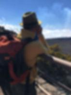 En route vers le Piton de la Fournaise