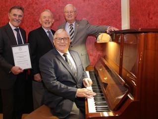 New Piano for Victoria Theatre