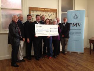Freemasons Support Swifts Creek Bush Nursing Centre