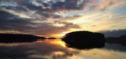 Shieldaig Island at sunset