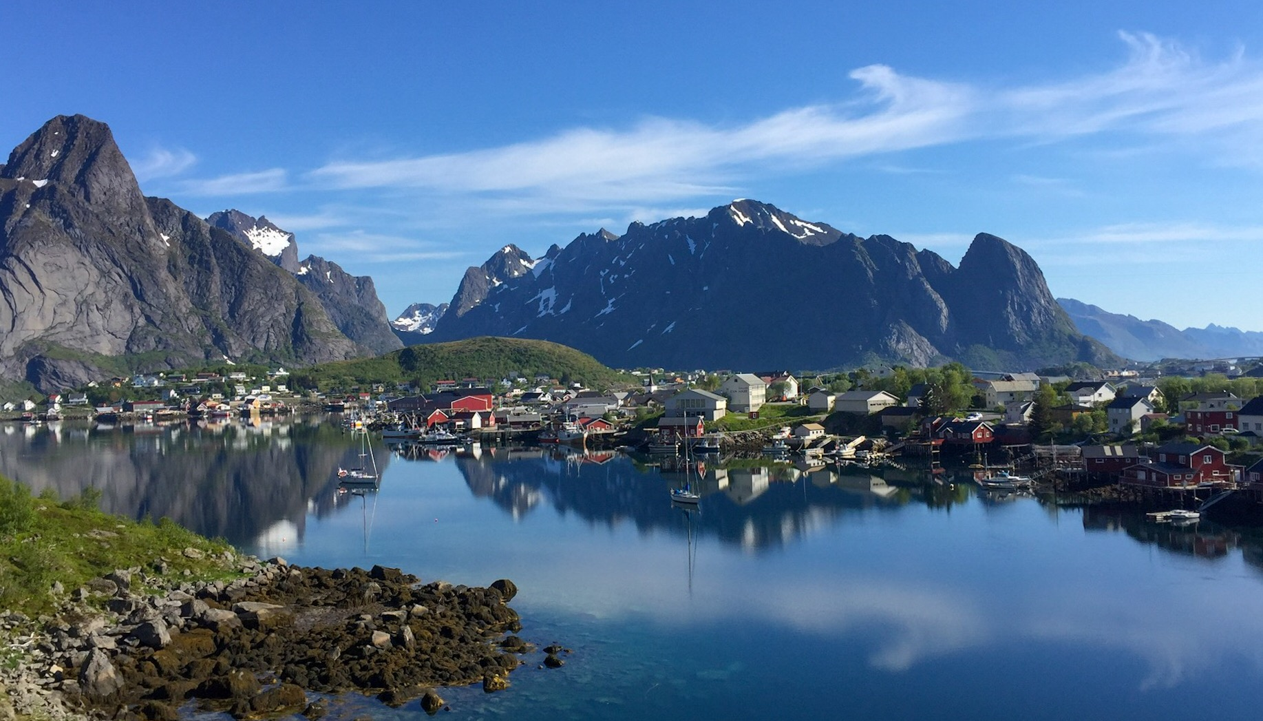 Temptress at Reine in Norway