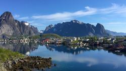 Temptress at Reine in Norway