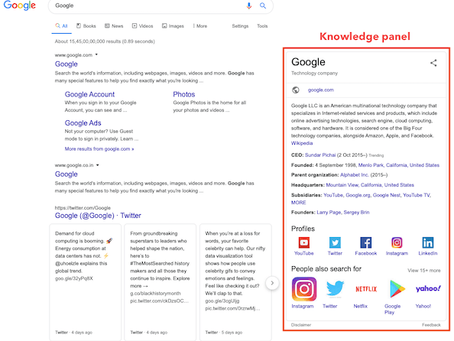 How To Get A Knowledge Panel