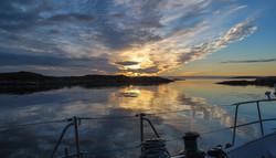 Summer Isles sunset