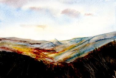 Chrome Hill from Axe Edge